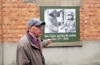 Local Guide at the Bastogne barracks