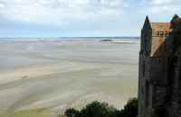 View from Mont-Saint-Michel